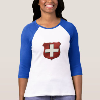 VintageRetro Swiss Shield for Swiss people T-Shirt