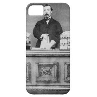 Vintages Porträt des Mannes iPhone 5 Case