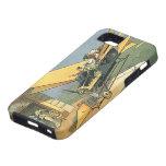 Vintages Science Fiction Steampunk Kabriolett-Auto iPhone 5 Case