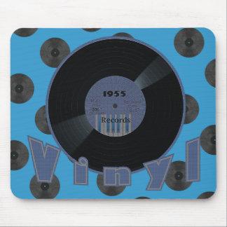 VINYL 33 RPM Record 1955 Label 2 Mouse Mat