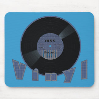 VINYL 33 RPM Record 1955 Label Mouse Pad