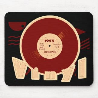VINYL 33 RPM Record 1955 Label Style 3 Mousepad