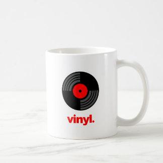 Vinyl Basic White Mug