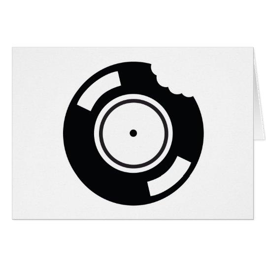 Vinyl Bite Card