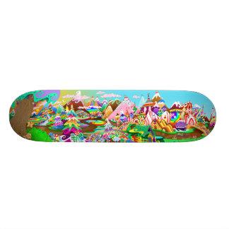 "Vinyl Candy's ""LAND"" Skateboard"