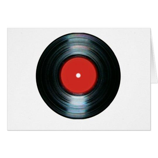 Vinyl Card