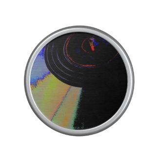 Vinyl colors speaker