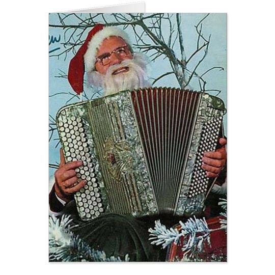 Vinyl Cover Christmas Card