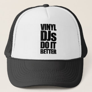 Vinyl Djs Trucker Hat