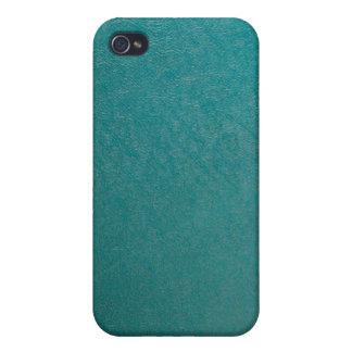 Vinyl Fabric, Turquoise iPhone 4 Case