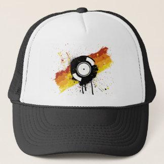Vinyl Graffiti Trucker Hat
