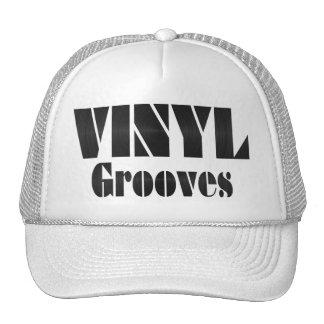 Vinyl Grooves Mesh Hat