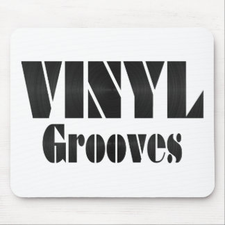 Vinyl Grooves Mouse Pad