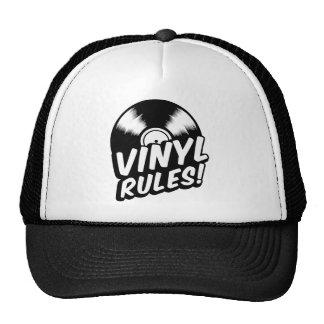 vinyl mesh hat