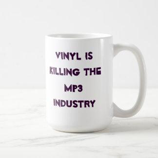 Vinyl is killing the MP3 industry Coffee Mug