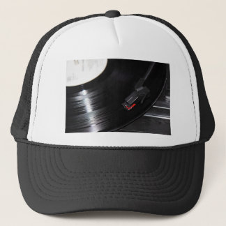 Vinyl is not dead trucker hat