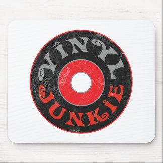 Vinyl Junkie Mouse Pad