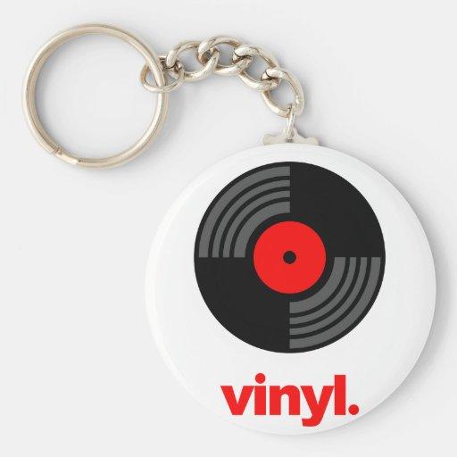 Vinyl Key Chains