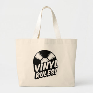 vinyl large tote bag