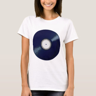 Vinyl Long Player With Keyboard Icon T-Shirt