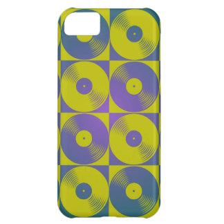 Vinyl music records pop art style iPhone 5C cases