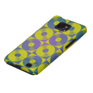 Vinyl music records pop art style samsung galaxy SII cover