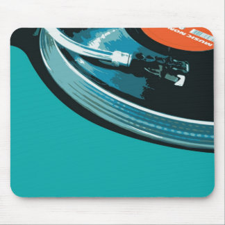 Vinyl Music Turntable Mouse Pad