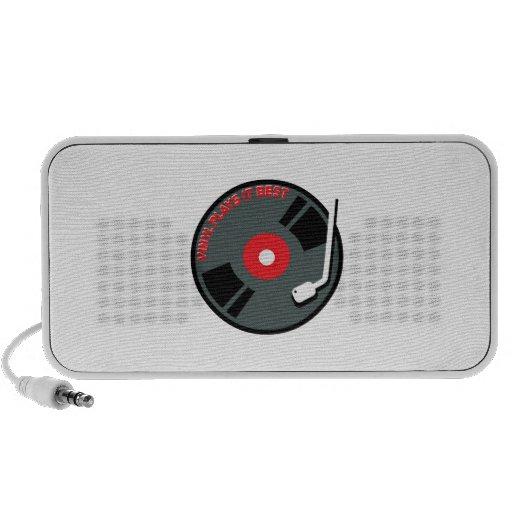 Vinyl Plays It Best Mini Speakers