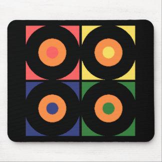 Vinyl Pop Art Mouse Mat