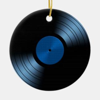 Vinyl Record Album - Very Retro Christmas Ornament