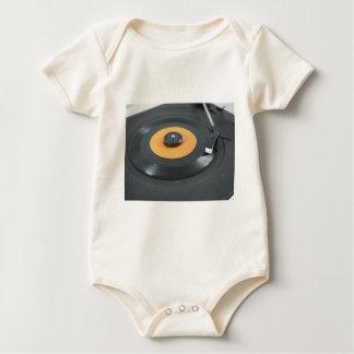 Vinyl record baby bodysuit