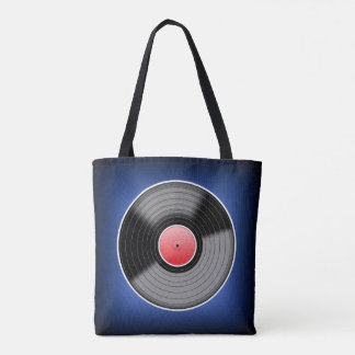 Vinyl Record Bag - Blue Fade.