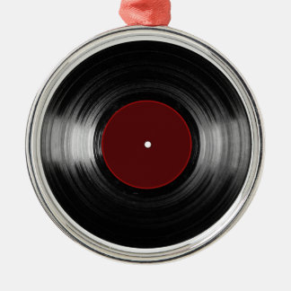 vinyl record christmas ornament