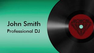 vinyl record business cards zazzle uk