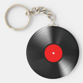 """""""Vinyl Record"""" gifts and products Key Ring"""