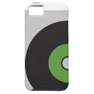 Vinyl Record Green Black and Grey iPhone 5 Covers