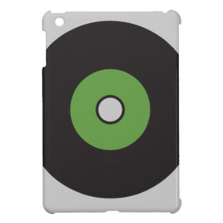 Vinyl Record Green Black and Grey Case For The iPad Mini