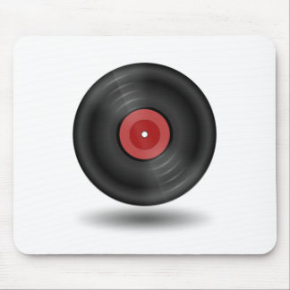Vinyl Record Mouse Pads