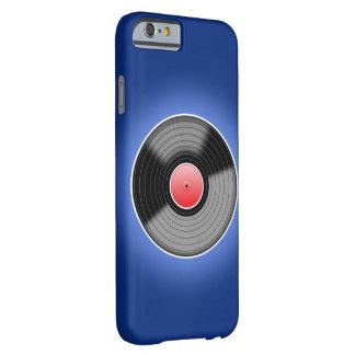Vinyl Record On Blue iPhone 6 Case