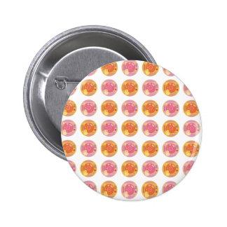Vinyl-record-player-hand-scratch-light-patterns 2 Inch Round Button