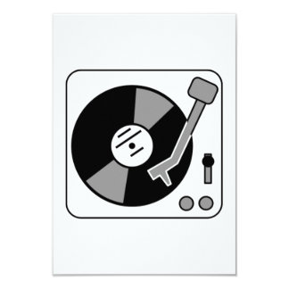 Vinyl Record Player Custom Announcements