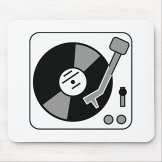 Vinyl Record Player Mouse Pads