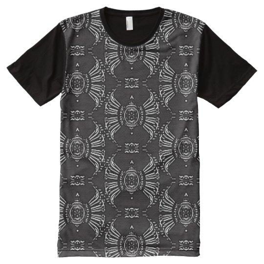 Vinyl Record T Shirt Raglan Sleeve