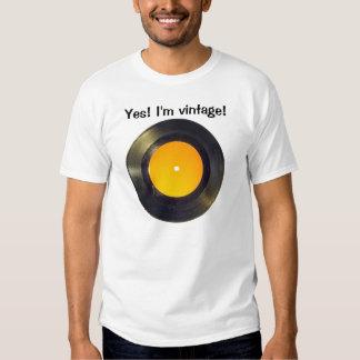 Vinyl record t shirts