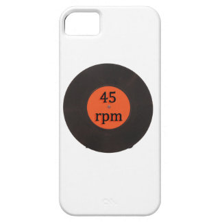 Vinyl record vintage 45 rpm 7 inch single barely there iPhone 5 case