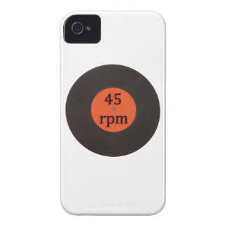 Vinyl record vintage 45 rpm 7 inch single iPhone 4 cases