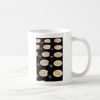 Vinyl Records Background Coffee Mug