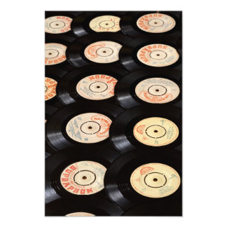 Vinyl Records Background Art Photo