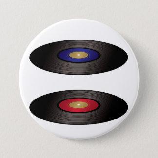 Vinyl Records Button