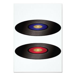 Vinyl Records Invitations